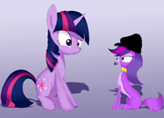 LPS Zoe Trent vs Twilight Sparkle