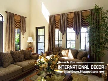 Creative Window Treatment Ideas 2015 For Living Room
