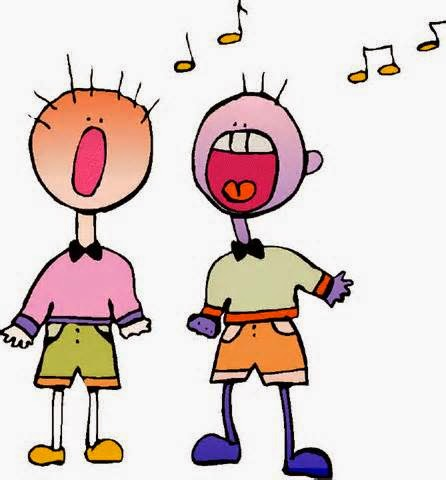 Kids Singing Clipart The Barefoot Ch...