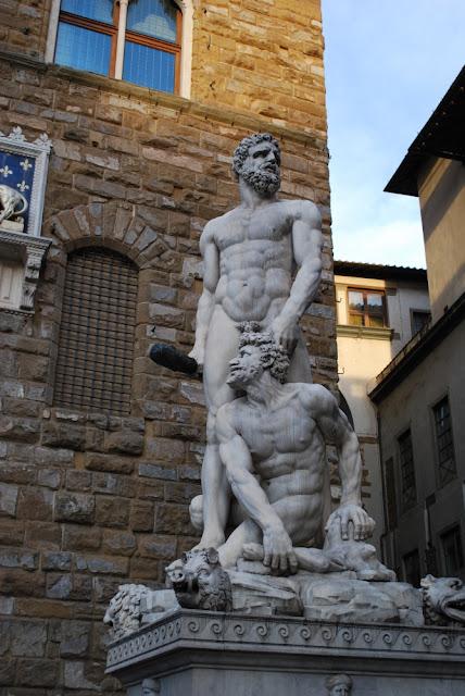 Herkules und Cacus von Bandinelli