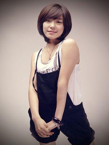 Trend Gaya Rambut Cewek Ala Korea One For All - Gaya rambut pendek ala korea