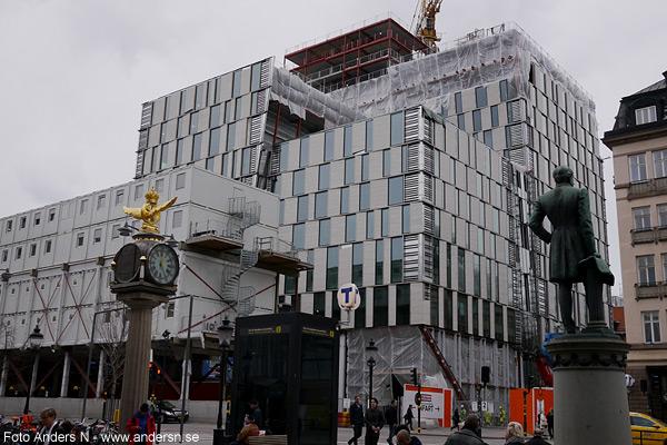 hotel continental, Stockholm, vasagatan, nybygge