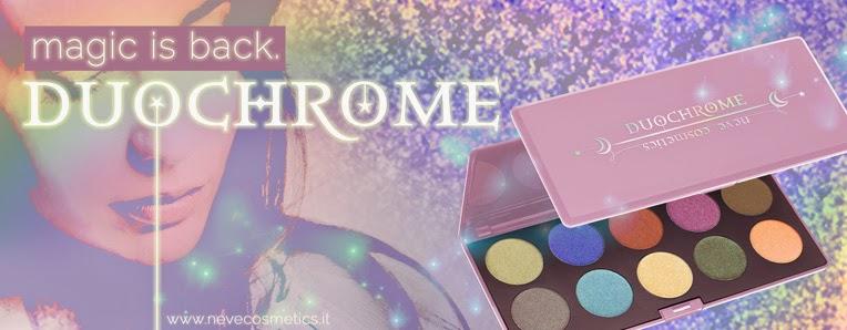 Il ritorno della palette DuoChrome di Neve Cosmetics!
