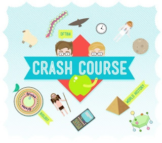 Crash Course youTube Channel, john green, hank green, biology crash course, world history crash course