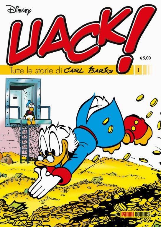 Uack! - I capolavori di Carl Barks PaniniComics.UACK.Cover+LR