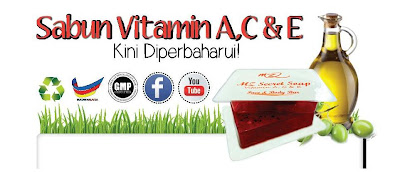Sabun Vitamin A,  C & E