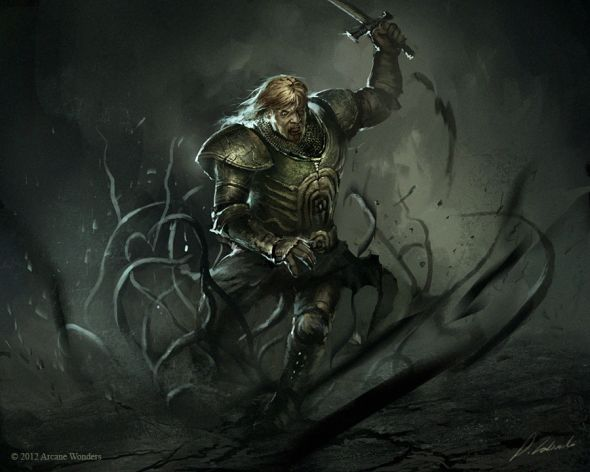 Darek Zabrocki daroz deviantart illustrations concept art fantasy games Tanglevine