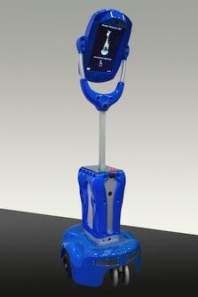 Imagen que muestra el robot Giraff Plus