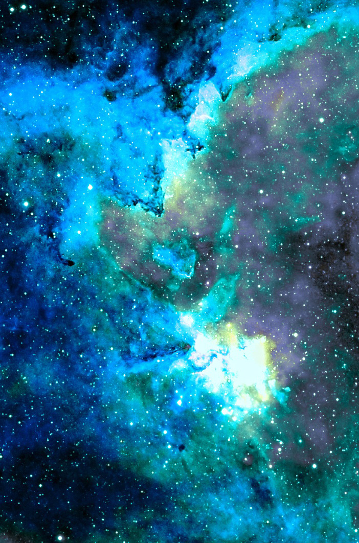Cool Color Nebulae