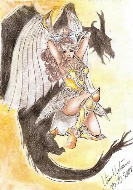 Legend of dragoon fanart por Sartag