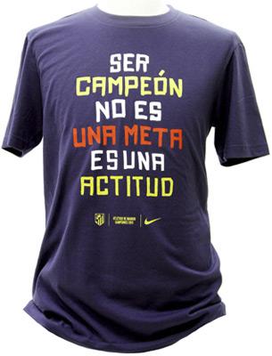 camiseta conmemorativa Atlético de Madrid Campeón de la Copa del Rey 2013