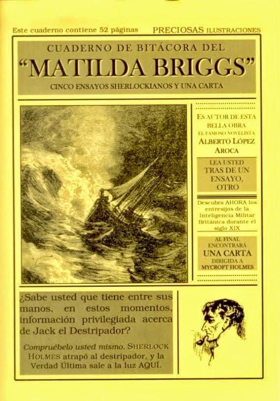 """""""CUADERNO DE BITÁCORA DEL 'MATILDA BRIGGS'"""", 6 euros"""