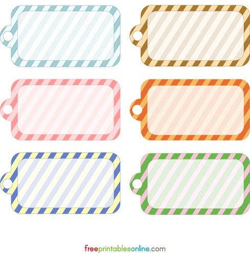 Free printable 4 etiquetas diferentes 4 different tags for Price tags for craft shows