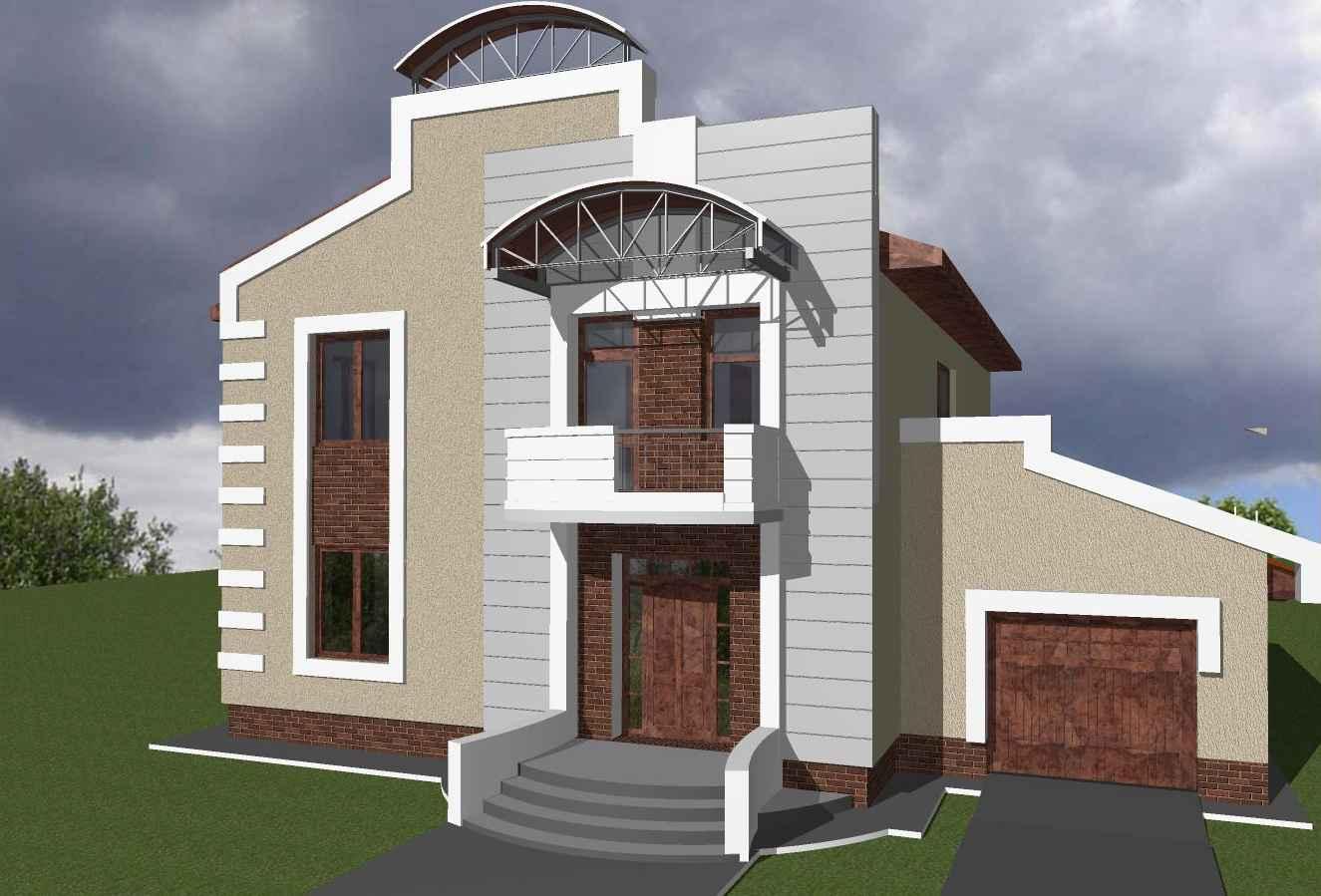 Modelos de casas dise os de casas y fachadas fotos de for Disenos de casas chicas