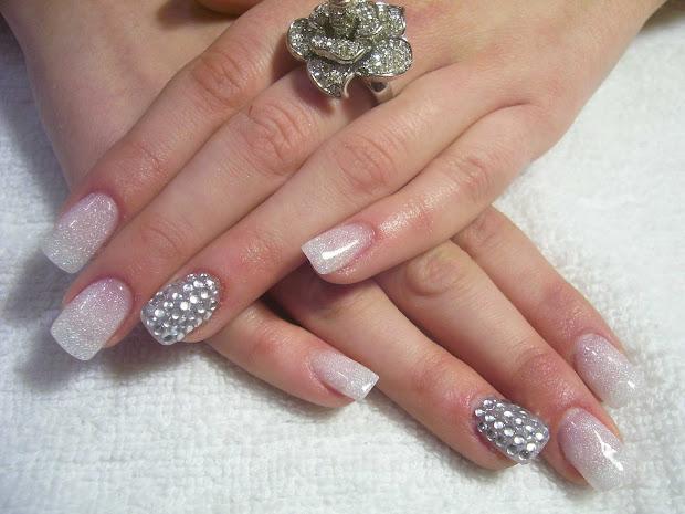 diamond glitter nails nailic