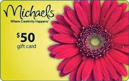 Comment-Giveaway Contest $50. Michaels Gift Card...