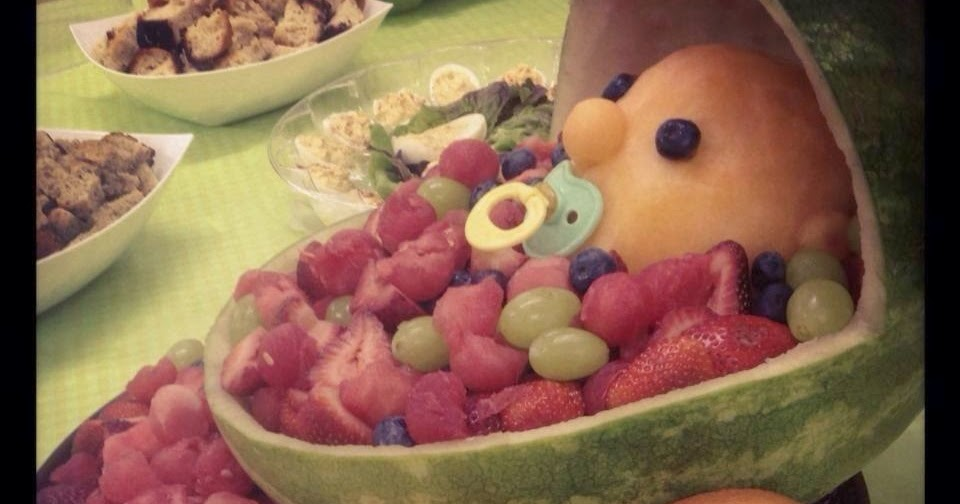 bri 39 s party creations baby shower fruit basket
