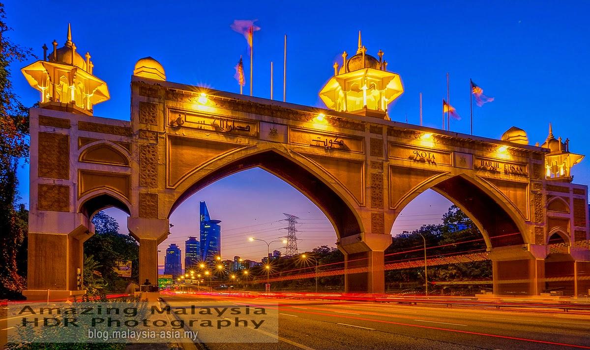 Kota Darul Ehsan Arch, Selangor Photography