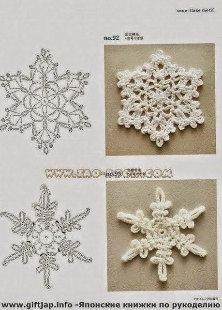 Adornos navide os al crochet todo crochet - Adornos navidenos ganchillo patrones ...