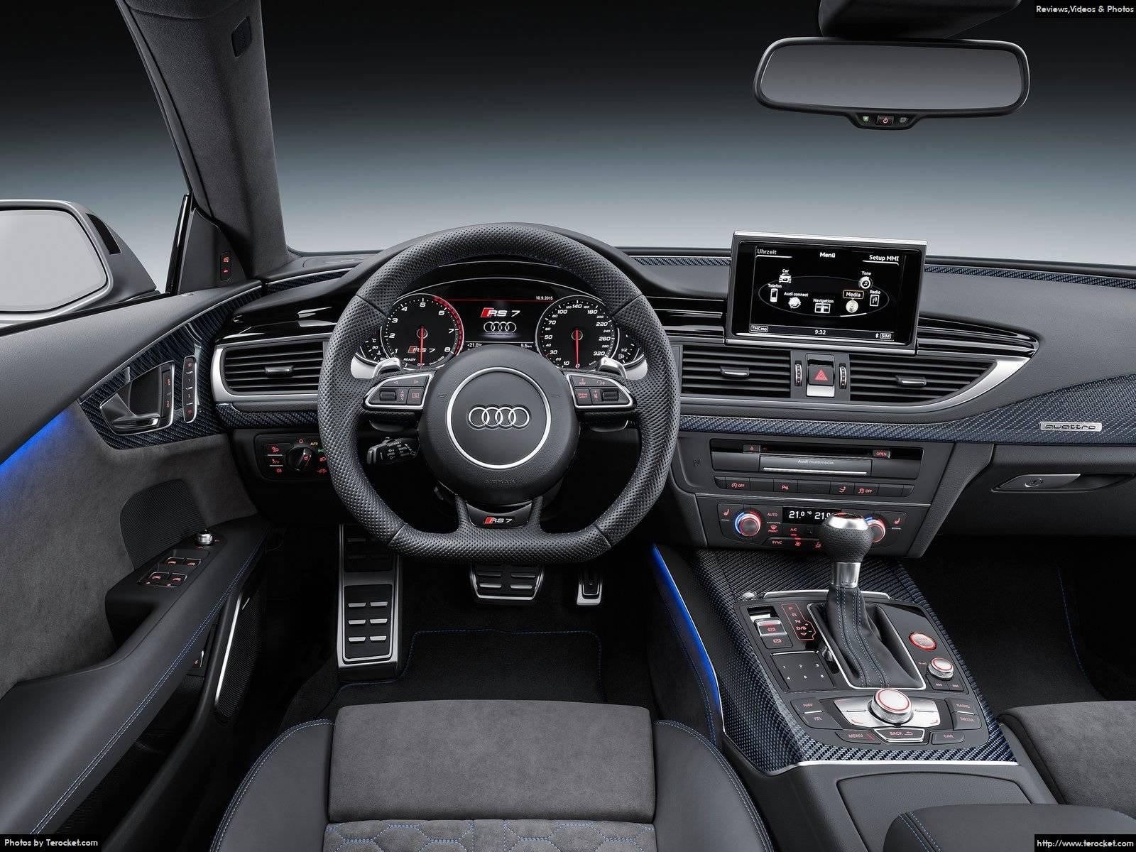 Hình ảnh xe ô tô Audi RS7 Sportback performance 2016 & nội ngoại thất