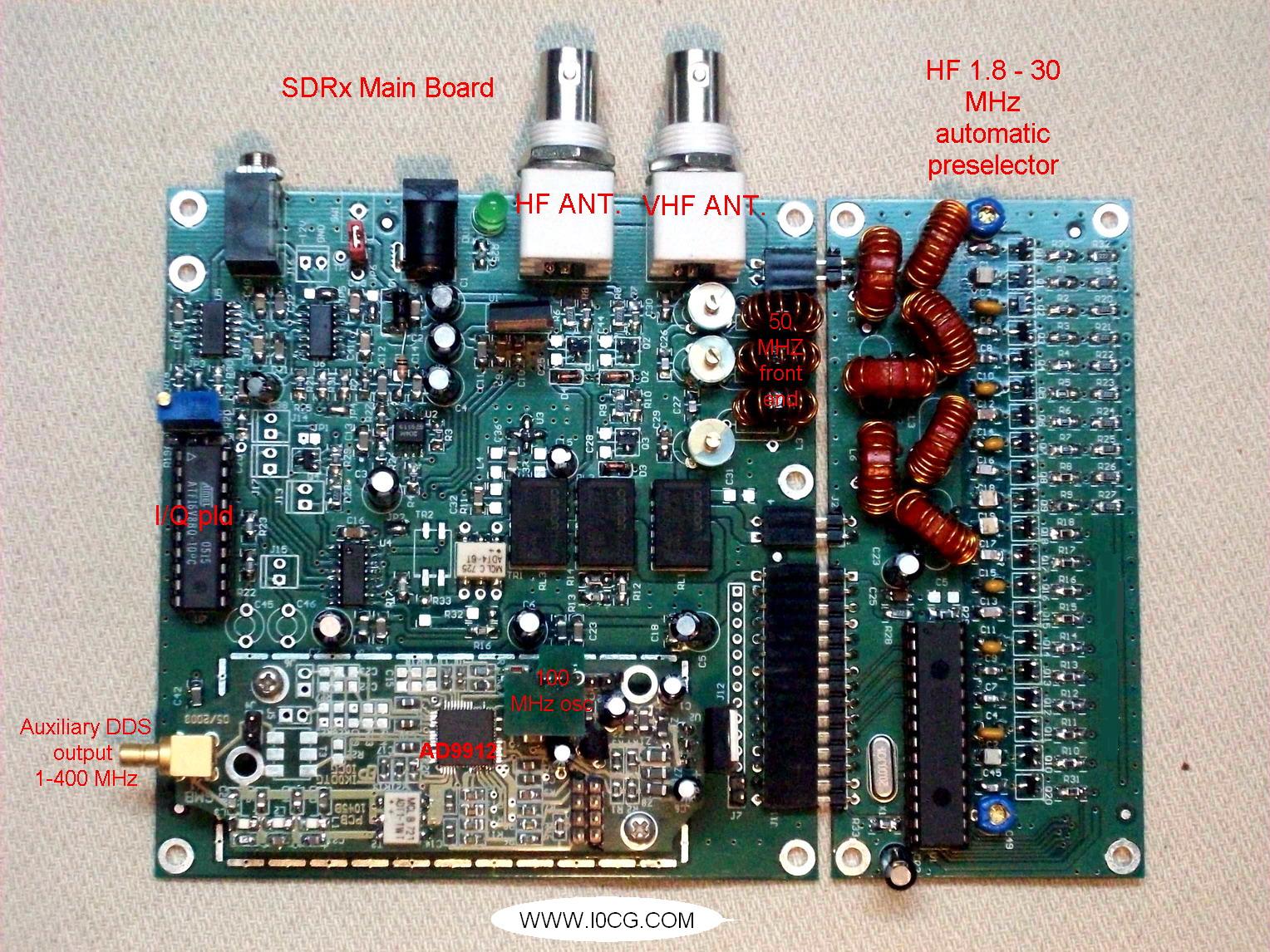 E/R SDR I0CG  Sdr_x_ed2_r