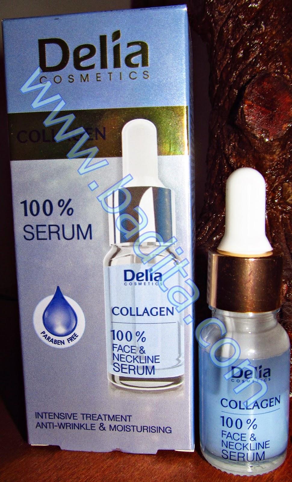 Colagen 100% Serum pentru fata, gat si decolteu Delia Cosmetics Review - secretul tineretii pielii