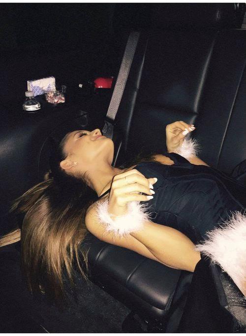Woof! Ariana Grande makes a Doggie | Please fondles me!