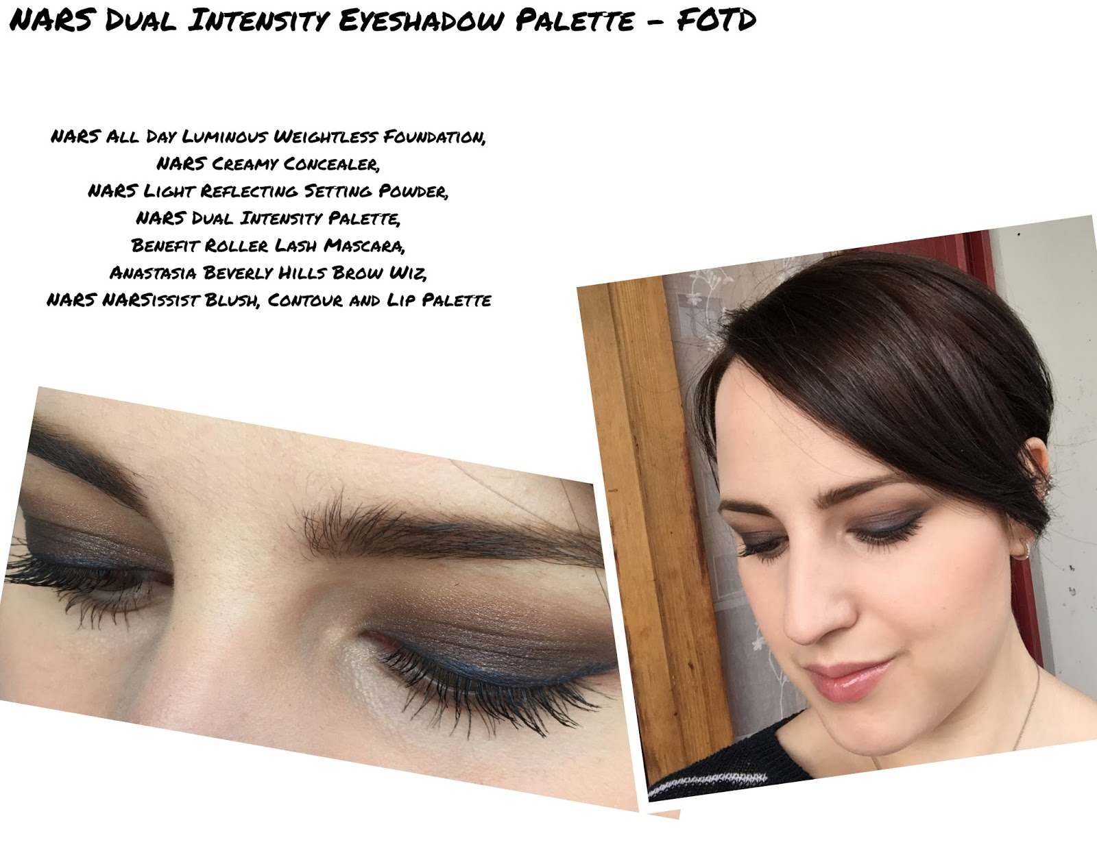 NARS Dual Intensity Eyeshadow Palette Look