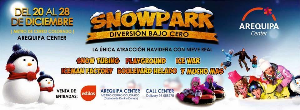 SnowPark en Arequipa