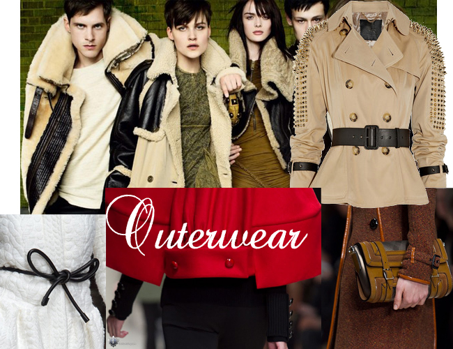 outwear Fashion Trends Fall Winter 2012