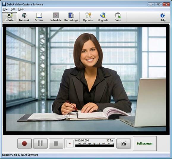 برنامج debut video capture لتسجيلات الفيديو اخر اصدار