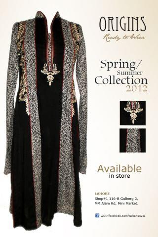 Origins-Ready To Wear Spring/Summer Dresses Collection 2012