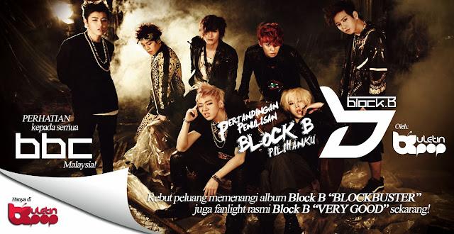 block b pilihanku buletin kpop