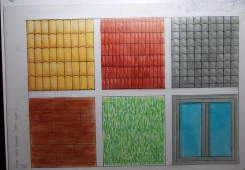 Arquitectura portafolio t cnicas de representaci n y for Representacion arquitectonica en planos