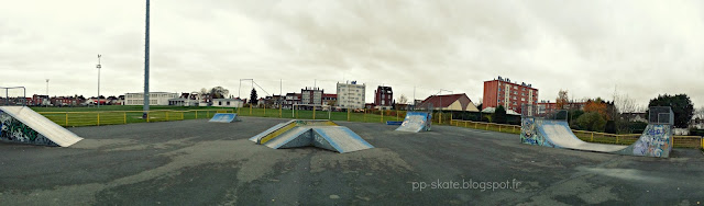 Skatepark Roubaix photo panoramique