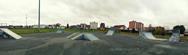 Skatepark Roubaix photo panoramique