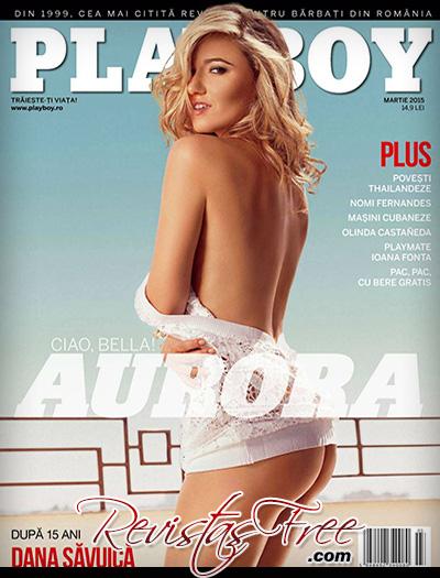 Aurora Marchesani - Playboy Romania - Março 2015