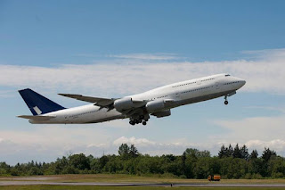 Test flight for Boeing 747-8 Intercontinental [Photo: Boeing]