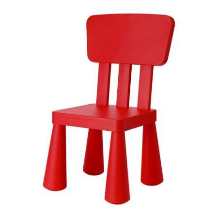 la silla roja