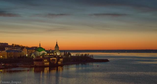 Путешествия: О жизни: Альбом пользователя GalaDietrih: Чебоксары закат на заливе фото