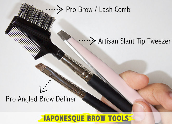Japonesque Brow Tools