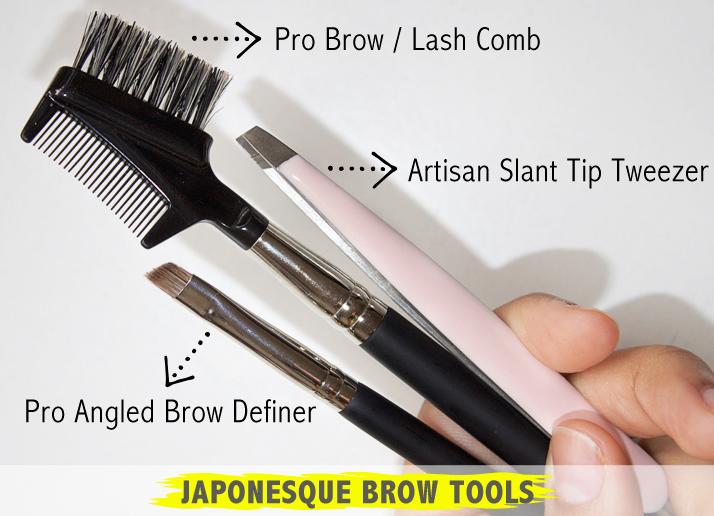 Japonesque Brow Tools