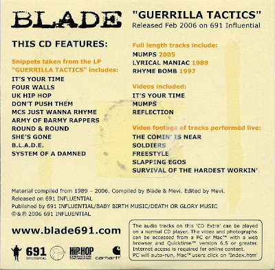 Blade – Guerrilla Tactics Sampler (2006) (192 kbps)