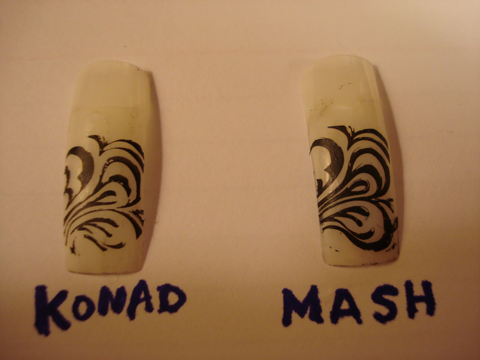 Loveable Nails: Konad vs Mash nail plates (Part 2)