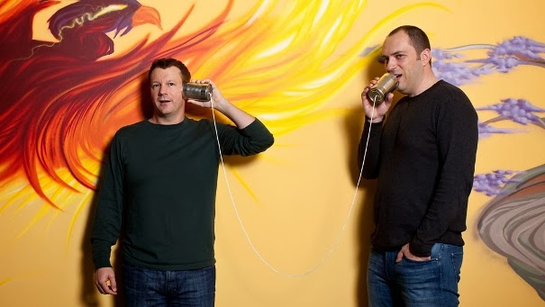 WhatsApp Co-founders Brian Acton and Jan Koum