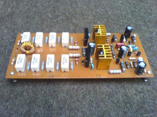 Urean power amplifier dan Resistor terbakar.