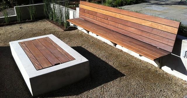 Banqueta de madera ipe brasilero patios y jardines for Banquitas de madera para jardin