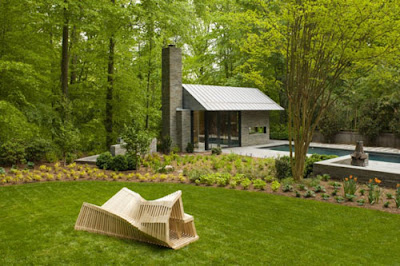 naturel artchitecture - garden design - external house designs