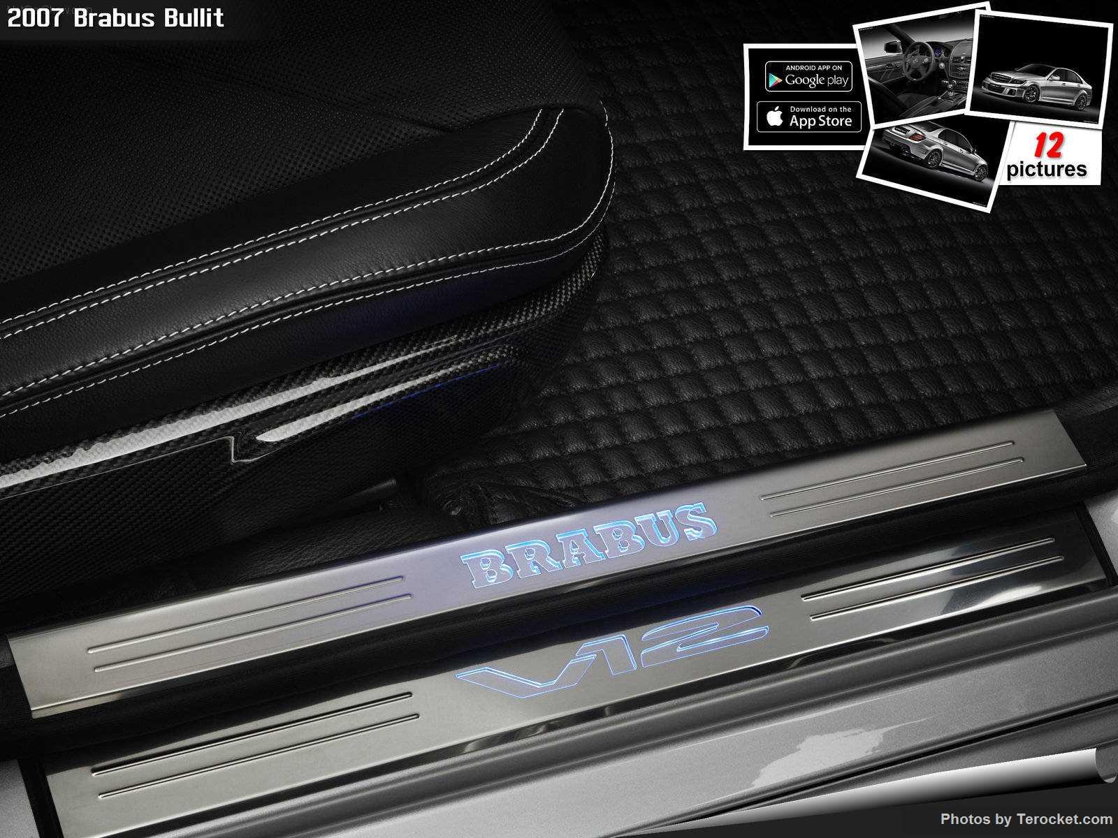 Hình ảnh xe ô tô Brabus Bullit 2007 & nội ngoại thất