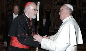 Cardinal Marx and Pope Francis